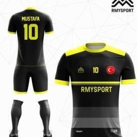 RM101 Futbol Forması Önden ve arkadan görünüşü