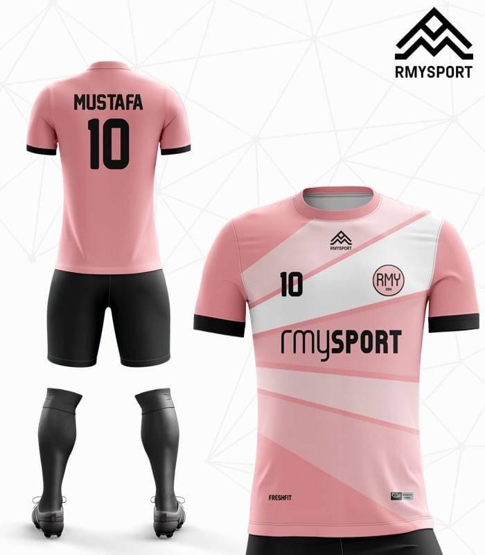 Pudra rengi Halı saha Futbol Forması